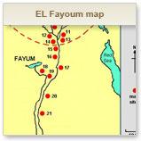 EL Fayoum Travel Map EL Fayoum Tourism Egypt Map - Map of fayoum egypt
