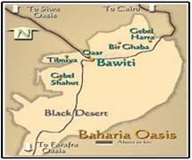 Western Desert Map Of Egypt Egypt Western Desert Map Western - Map of egypt oasis