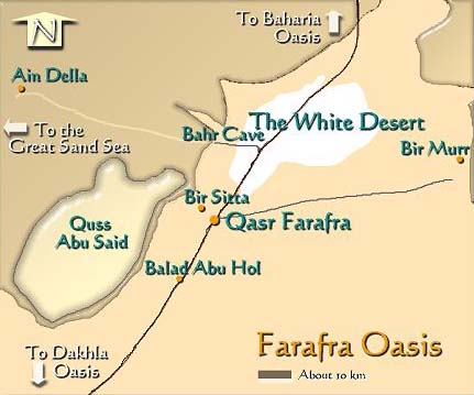 maps of egypt. Farafra oasis Map Of Egypt,